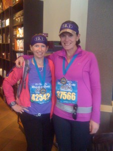 Our clients help motivate each other and even run marathons together.