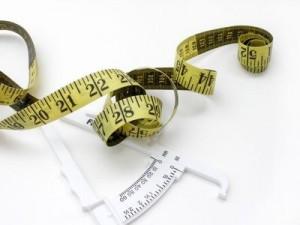 Measuring Tape & Body Fat Calipers